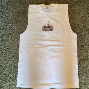Alstyle Large Orange County Choppers tank top
